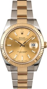 Rolex Datejust 126333 Champagne Dial Two Tone Oyster