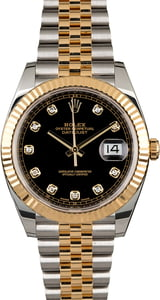 Pre-Owned Rolex Datejust 41 Diamond 126333