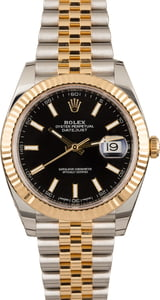 Rolex Datejust 41 Ref 126333 Black Dial