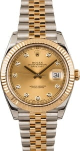 Pre Owned Rolex Datejust 126333 Diamond Dial