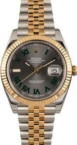 Pre-Owned Rolex Datejust 126333 Roman Dial