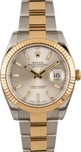 Pre Owned Rolex Datejust II Ref 126333 Two Tone Oyster
