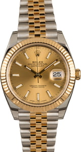 Pre-Owned Rolex Datejust 126333 Champagne Luminous Dial