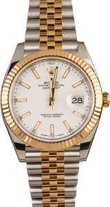 Pre-Owned Rolex Datejust 126333 White Dial