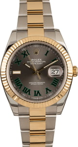 Pre-Owned Rolex Datejust 126333 Slate Dial