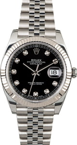 Rolex Datejust II Ref 126334 Black Diamond Dial