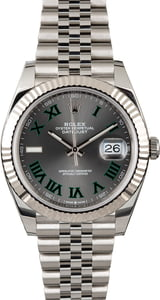 PreOwned Rolex Datejust II Ref 126334 Slate Roman Dial