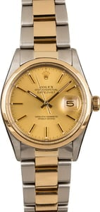 Pre-Owned Rolex Datejust 16003 Champagne Dial