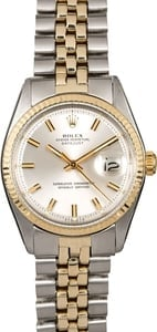 Men's Rolex Datejust 1601 Fluted Bezel