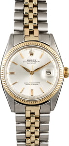 Rolex Datejust 1601 Silver Dial Two Tone