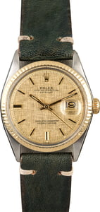 Rolex Datejust 1601 Linen 'Pie Pan' Dial