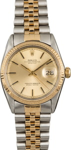 Used Rolex Datejust 1601 Two Tone Jubilee