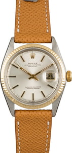 Used Rolex Datejust 1601 Silver Dial