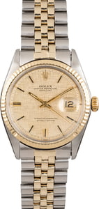 Vintage Rolex Datejust 1601 'Pie Pan' Dial
