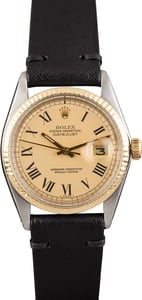 Pre Owned Rolex Datejust 1601 Champagne Dial