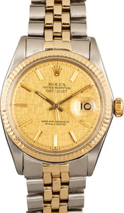 Datejust Rolex 1601 Two-Tone