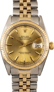 Men's Rolex Datejust 1601 Two-Tone Jubilee