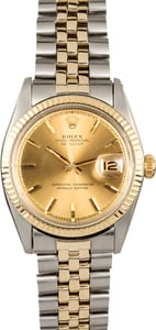 Rolex Datejust 1601 Vintage Two-Tone