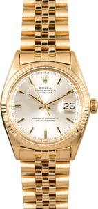 Rolex Datejust 1601 Yellow Gold