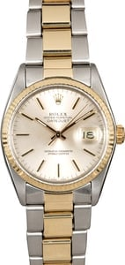 Rolex Datejust 16013 Two Tone Oyster