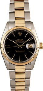 Men's Rolex Datejust 16013 Two Tone Oyster