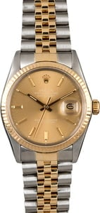 Rolex Datejust 16013 Certified PreOwned