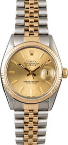 Rolex Datejust 16013 PreOwned Watch