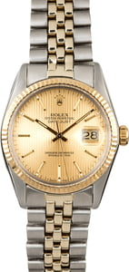 Rolex Datejust 16013 Tapestry Index Dial