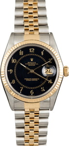 Rolex Datejust 16013 Blue Arabic Dial