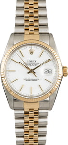 Used Rolex Datejust 16013 Fluted Bezel