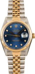 Datejust Rolex 16013 Certified Pre-Owned