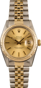 Pre-Owned Rolex 36MM Datejust 16013