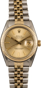 Pre-Owned 36MM Rolex Two-Tone Datejust 16013