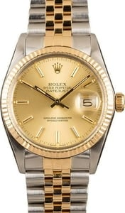 Rolex 16013 Datejust Two-Tone