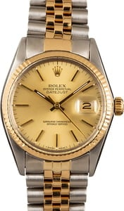 Rolex Datejust 16013 Two Tone Watch