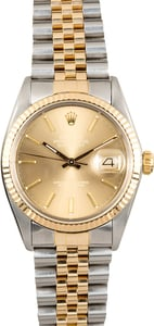 Rolex Datejust 16013 Certified Pre-Owned