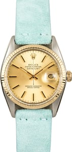 Rolex Datejust 16013 Leather Strap