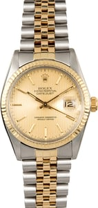 Rolex Datejust 16013 Steel and Gold Two-Tone