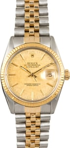 Rolex Datejust 16013 Two-Tone Jubilee