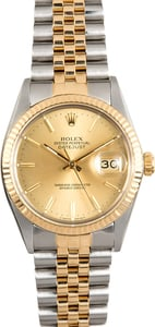 Rolex Datejust 16013 Two-Tone Pre-Owned