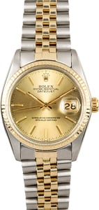 Rolex Datejust 16013 Two-Tone Men's Watch