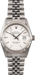 Rolex Oyster Perpetual Datejust 16014 Jubilee