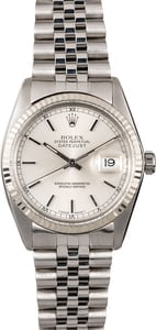 Rolex Datejust 16014 Stainless Men's