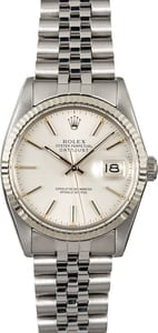 Rolex Datejust 16014 Stainless Steel Jubilee Band