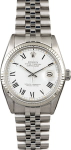 Rolex Datejust 16014 White Buckley Dial