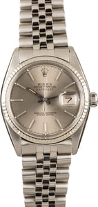 Pre-Owned Rolex Datejust 16014 Steel Jubilee