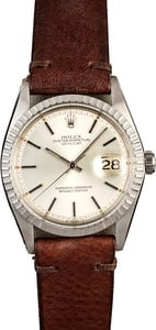 Men's Rolex Datejust 1603 Stainless Steel