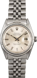 PreOwned Rolex Datejust 1603 Engine Turned Bezel
