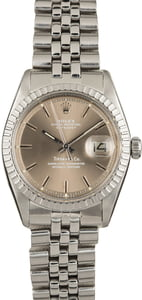 Rolex Tiffany & Co Datejust 1603 Jubilee