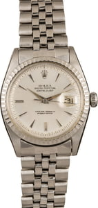 Vintage Rolex Datejust Stainless Steel Fold Over Link 1603